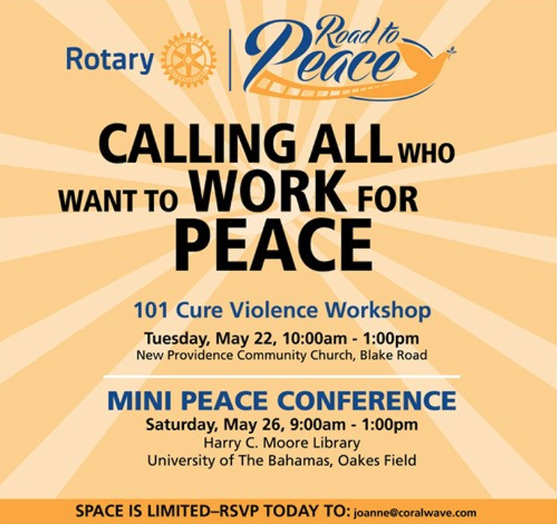 Mini Peace Confernce Hosted by Road to Peace Bahamas