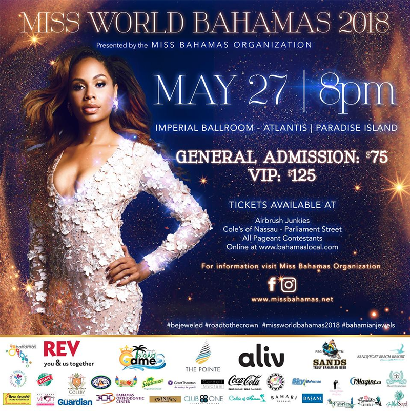 Miss World Bahamas 2018