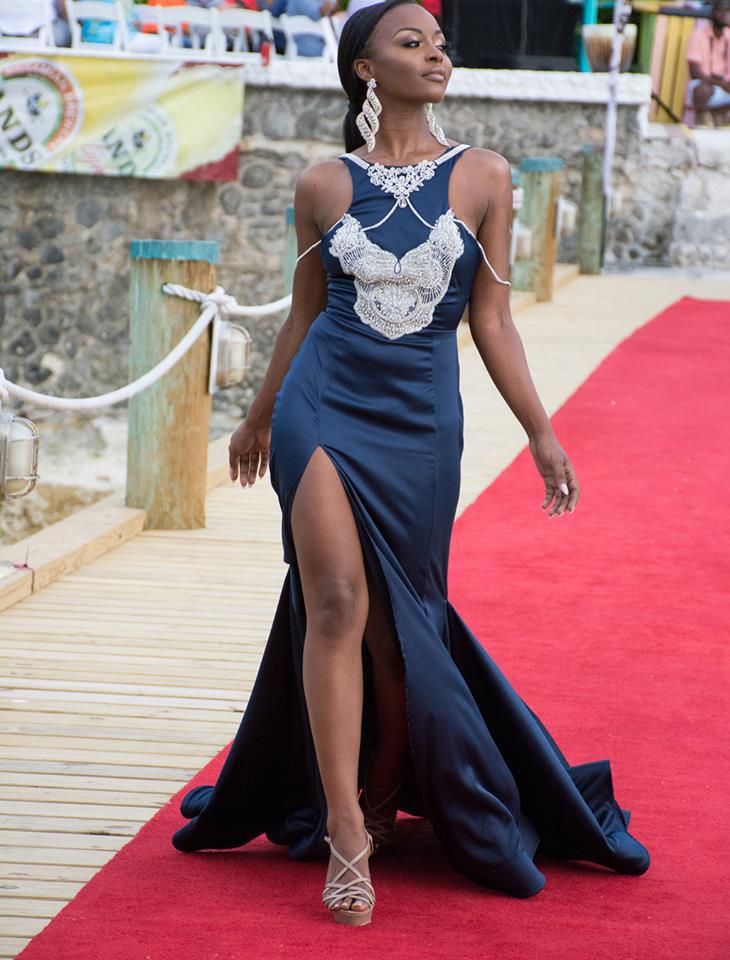 Brinique Gibson - Miss World Bahamas