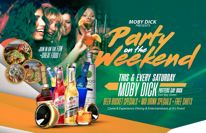 Party On The Weekend Hosted by Moby Dick Potters Cay