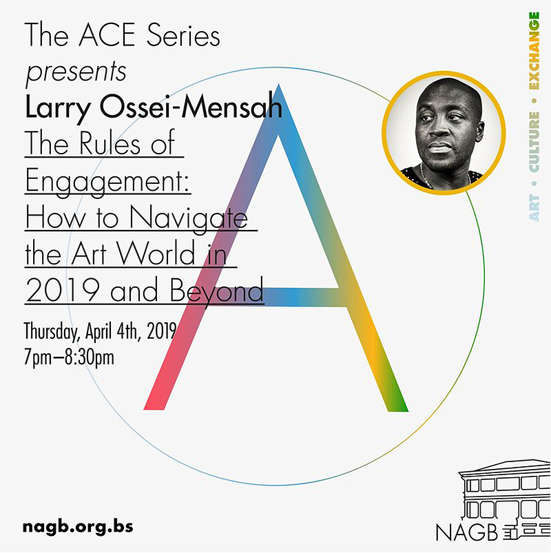ACE Series with acclaimed curator Larry Ossei-Mensah