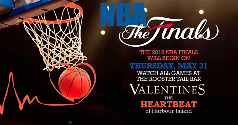 NBA Finals Hosted by The Boathouse Restaurant and Valentine's Resort and Marina