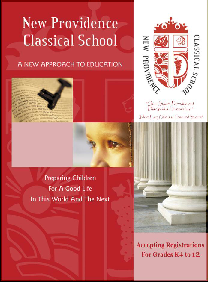 Click To See New Providence Classical School Brochure