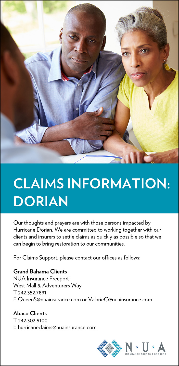 NUA Insurance Agency & Brokers Information On Hurricane Dorian