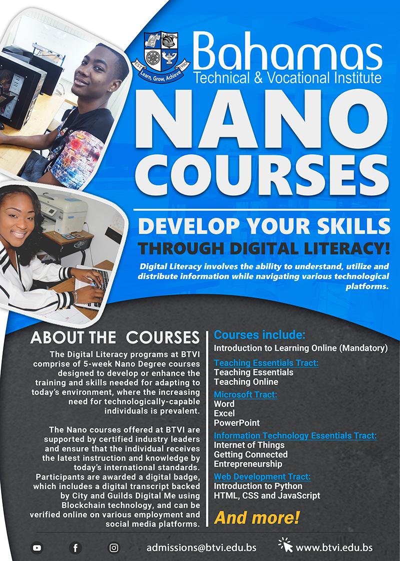 Nano Courses. Develop Your Skills