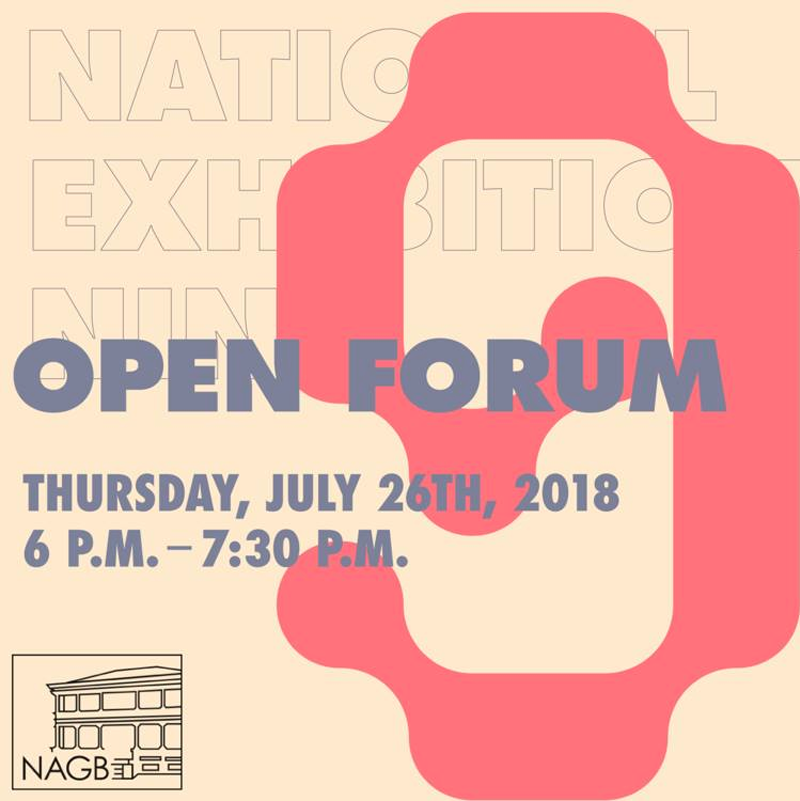 National Exhibition 9: Open Forum Hosted by The National Art Gallery of The Bahamas