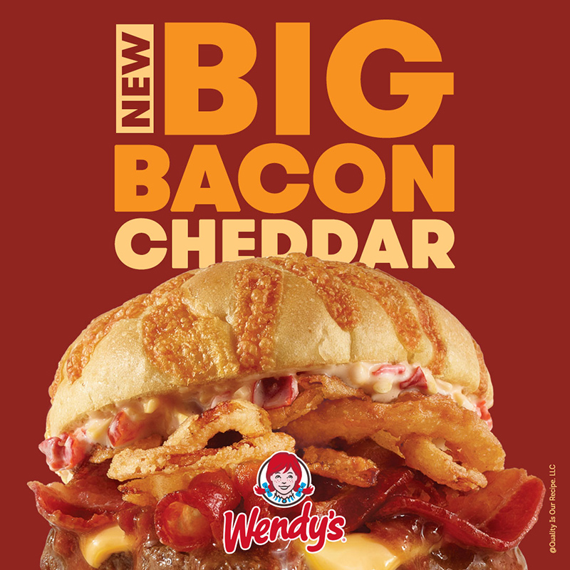 The New Big Bacon Cheddar is here and it is cheesy!