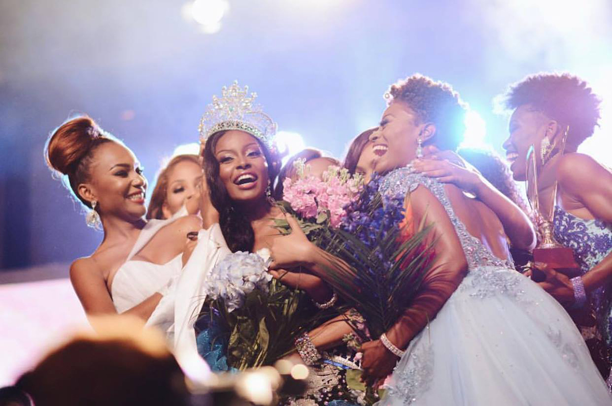Congratulations To Our New Miss World Bahamas 2018 Brinique Gibson Being Celebrated By The Other Constants