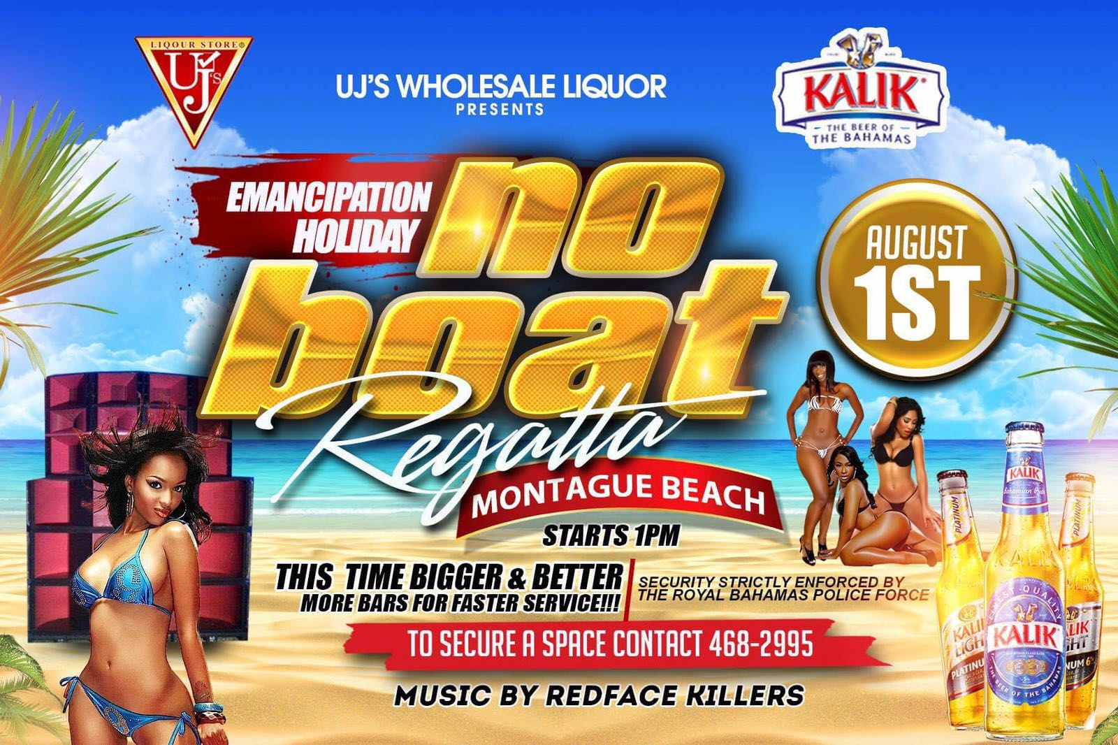 Kalik Emancipation Holiday No Boat Regatta