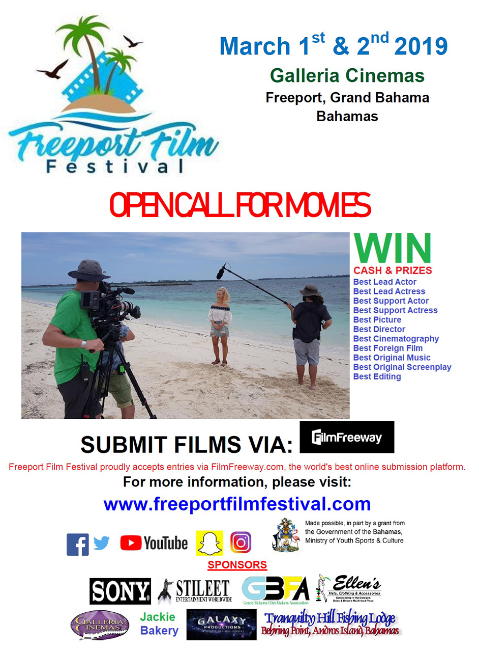Freeport Film Festival - OPEN CALL FOR ALL MOVIES