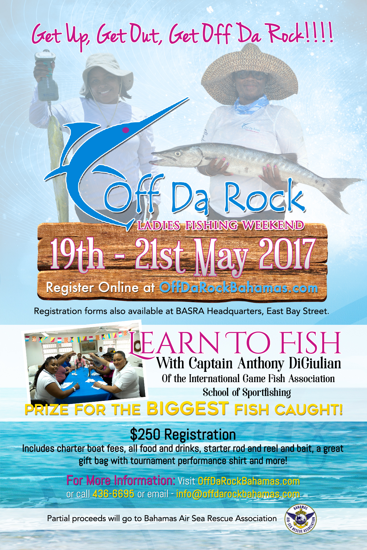 Off Da Rock Ladies Fishing Weekend