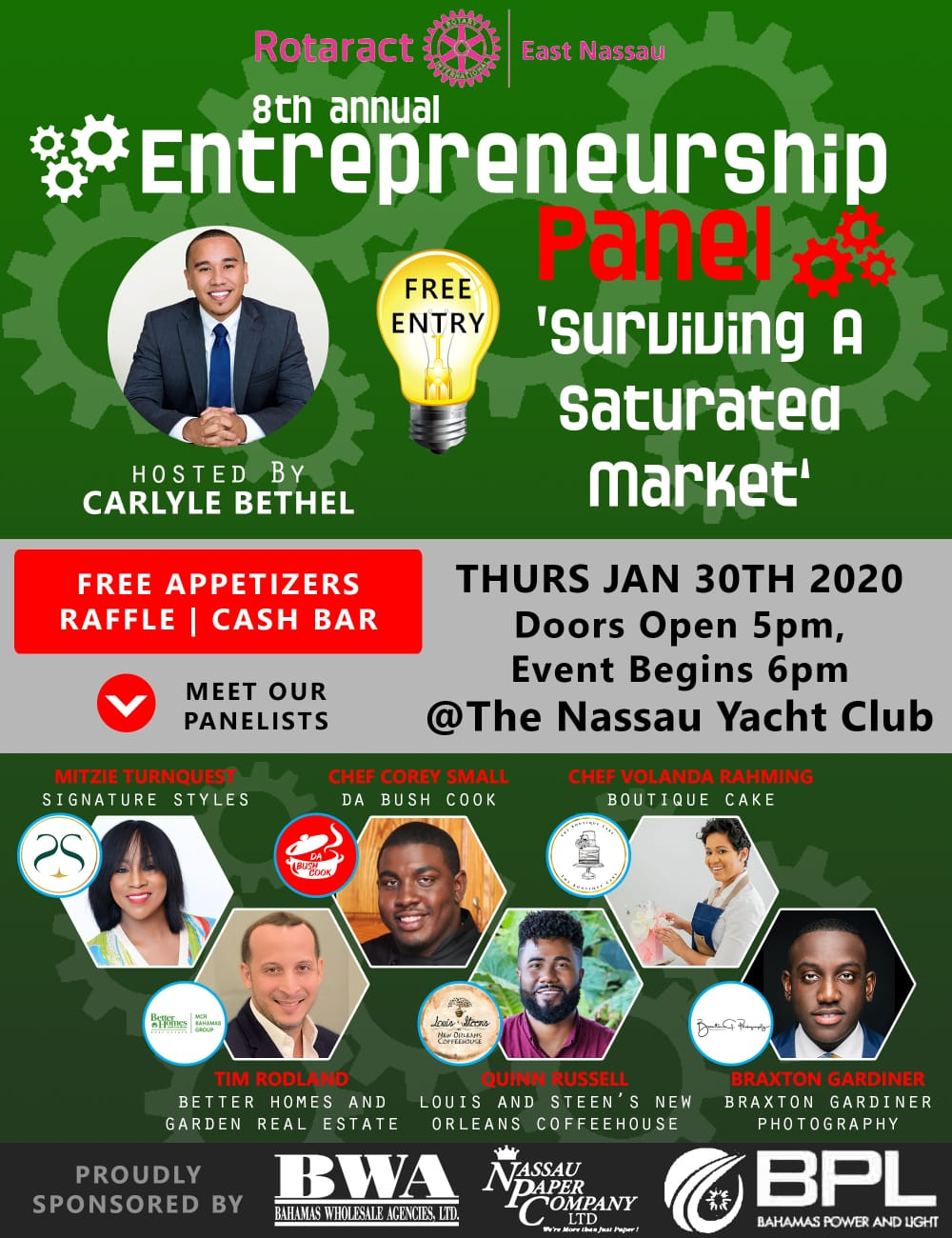 8th Annual Entrepreneurship Panel