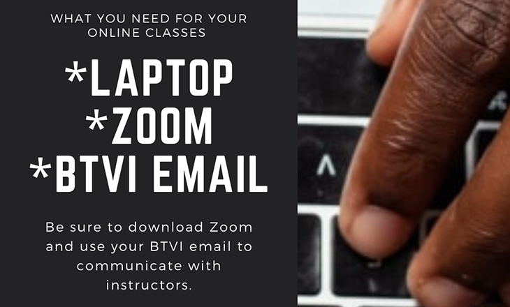 What you need for Online Classes at Bahamas Technical & Vocational Institute (BTVI)
