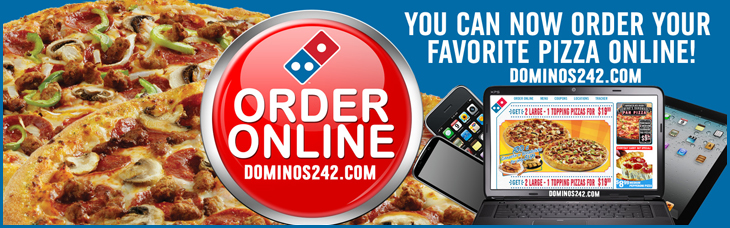Online Ordering with Dominos Pizza!