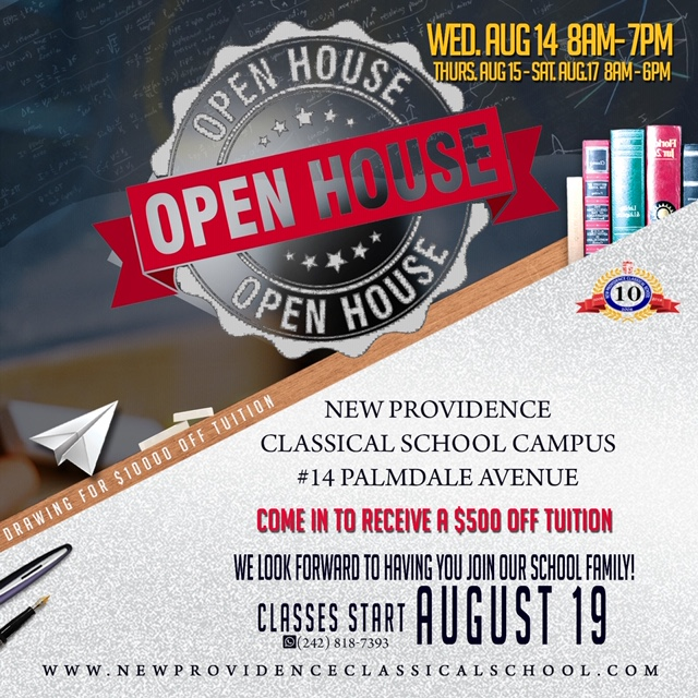 Open House at  New Providence Classical School
