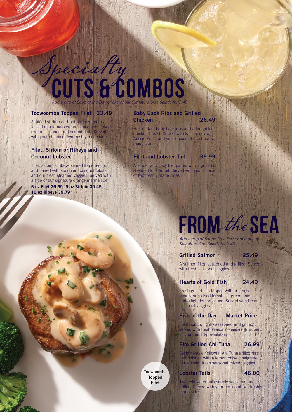 picture regarding Outback Printable Menu titled Outback Steakhouse Bahamas - Nau - Nau / Paradise