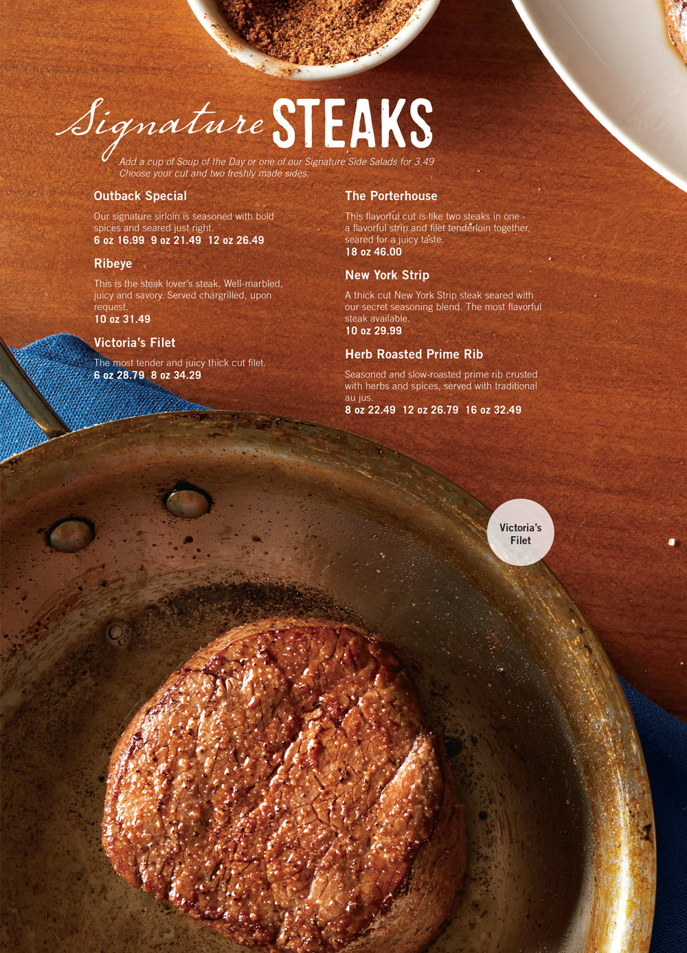 photograph about Outback Steakhouse Printable Menu known as Outback Steakhouse Bahamas - Nau - Nau / Paradise