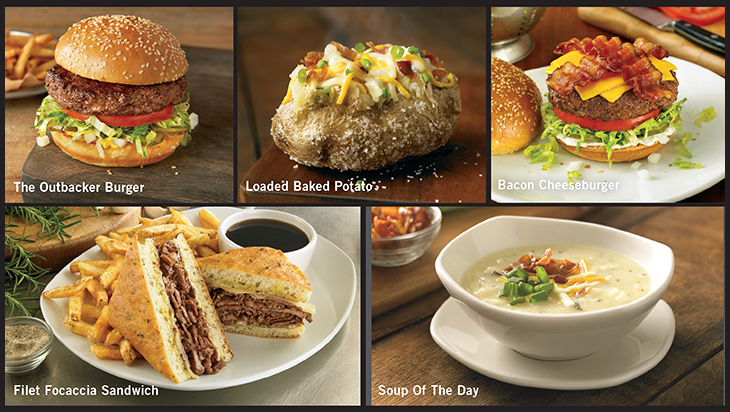 Check Out Our New Local Influenced Dishes At Outback Steakhouse