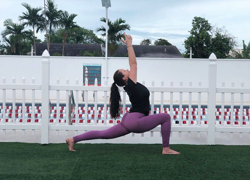 Outdoor Wake Up Yoga Flow Hosted by IslandFitChix