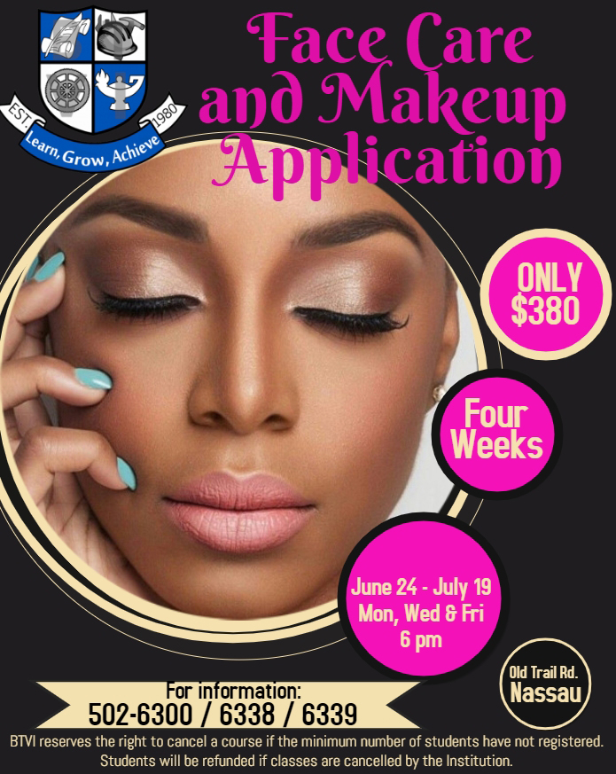BTVI Face Care Make -Up Application Summer 2019