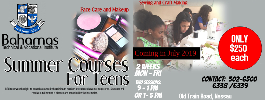 BTVI Teen Summer Courses