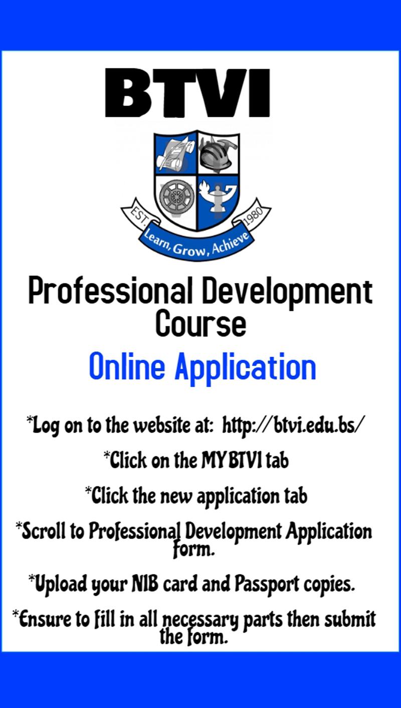 BTVI Professional Development Course