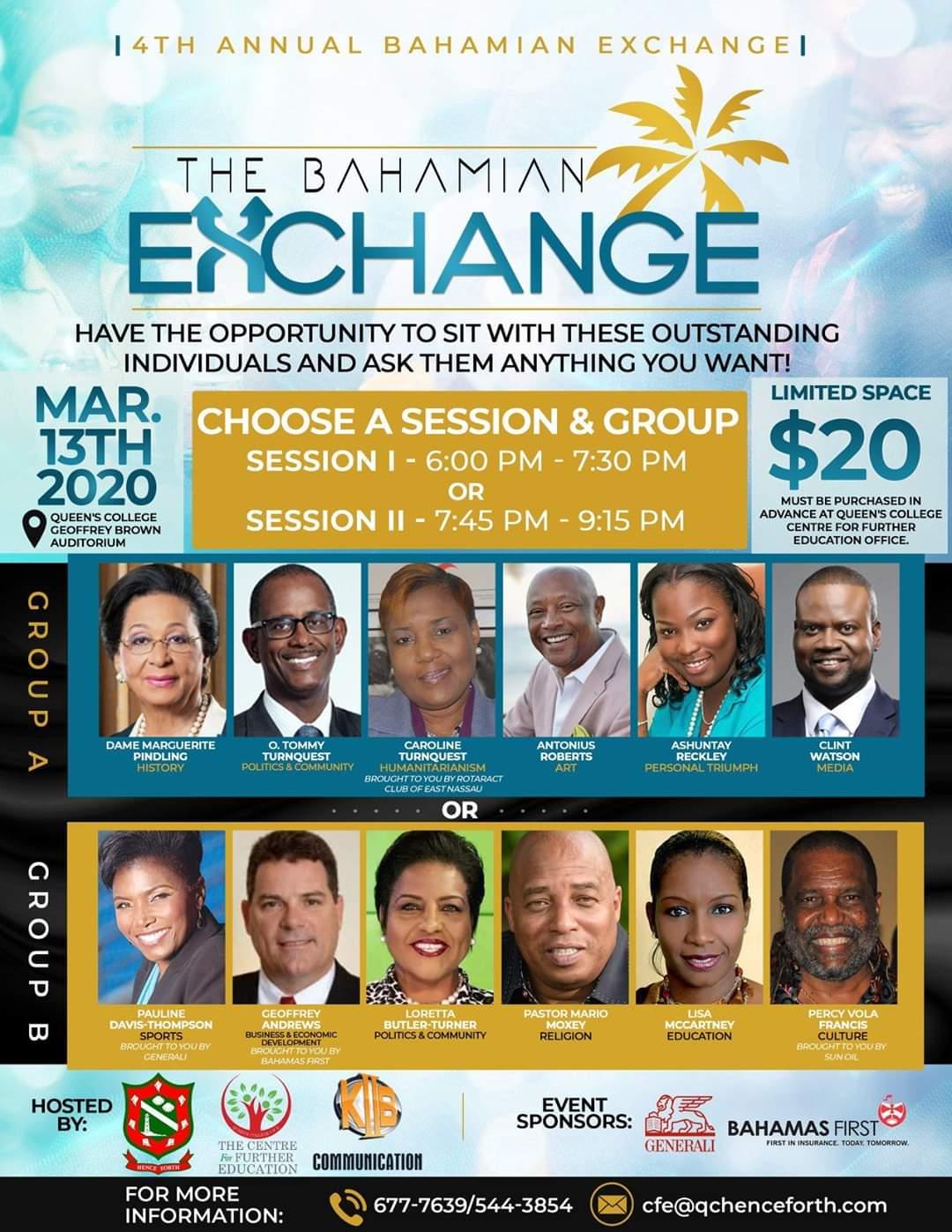 4th Annual Bahamian Exchange
