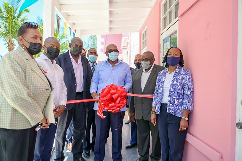 GOVERNOR'S HARBOUR, ELEUTHERA - Prime Minister the Most Hon. Dr. Hubert Minnis and Minister of Foreign Affairs the Hon. Darren Henfield opened another satellite passport office as part of the Government's investment in services and infrastructure throughout the Family Islands. The newest Passport Office, located in Governor's Harbour, is the fourth to be opened across the Family Islands in the last two months. Other offices were recently opened on the islands of Exuma, Inagua and Long Island.