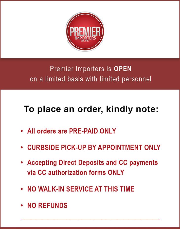 Premiere Imports Ltd