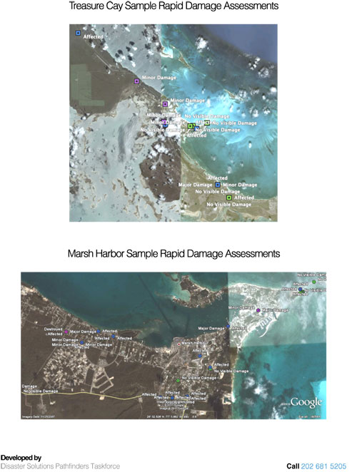 PTF Rapid Damage Assessment Abaco Island