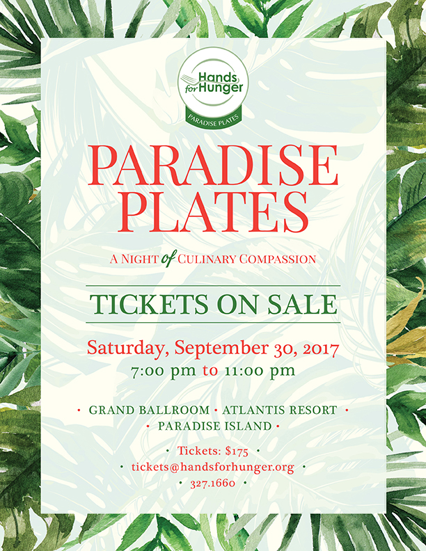 Paradise Plates | Save The Date