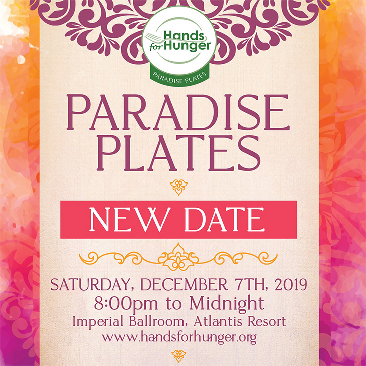Hands For Hunger Presents Paradise Plates