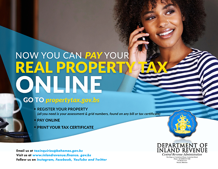 Department of Inland Revenue | Pay Your Real Property Tax Online
