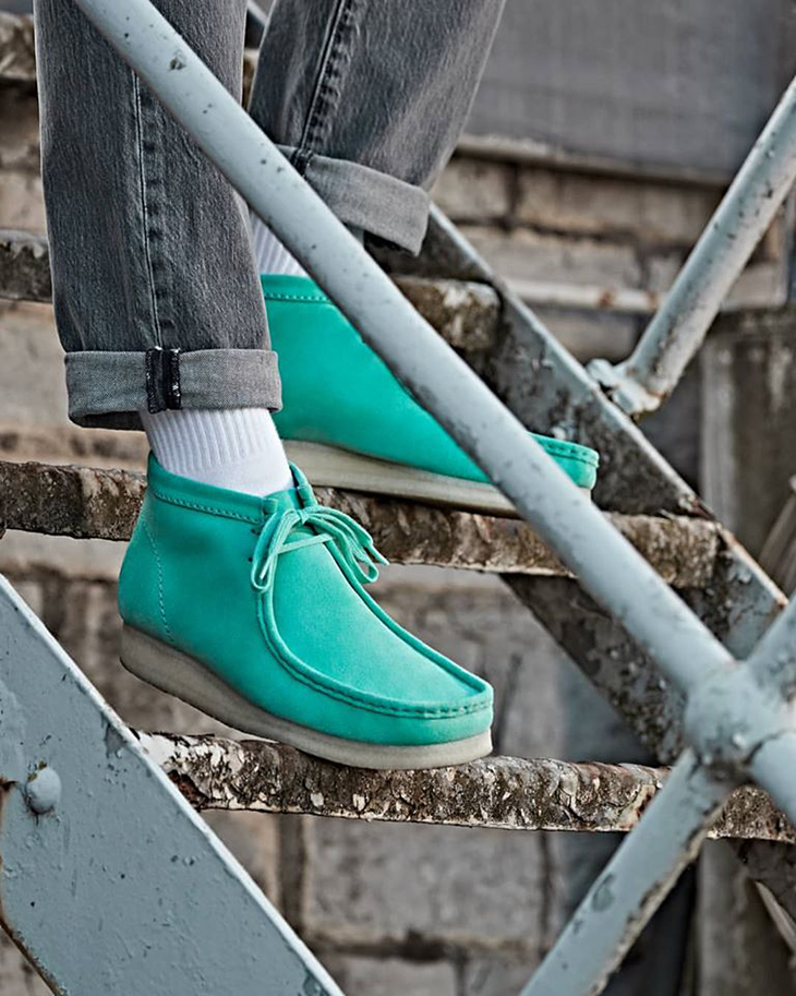 The Cult Icon In Spearmint. Style With Clarks!