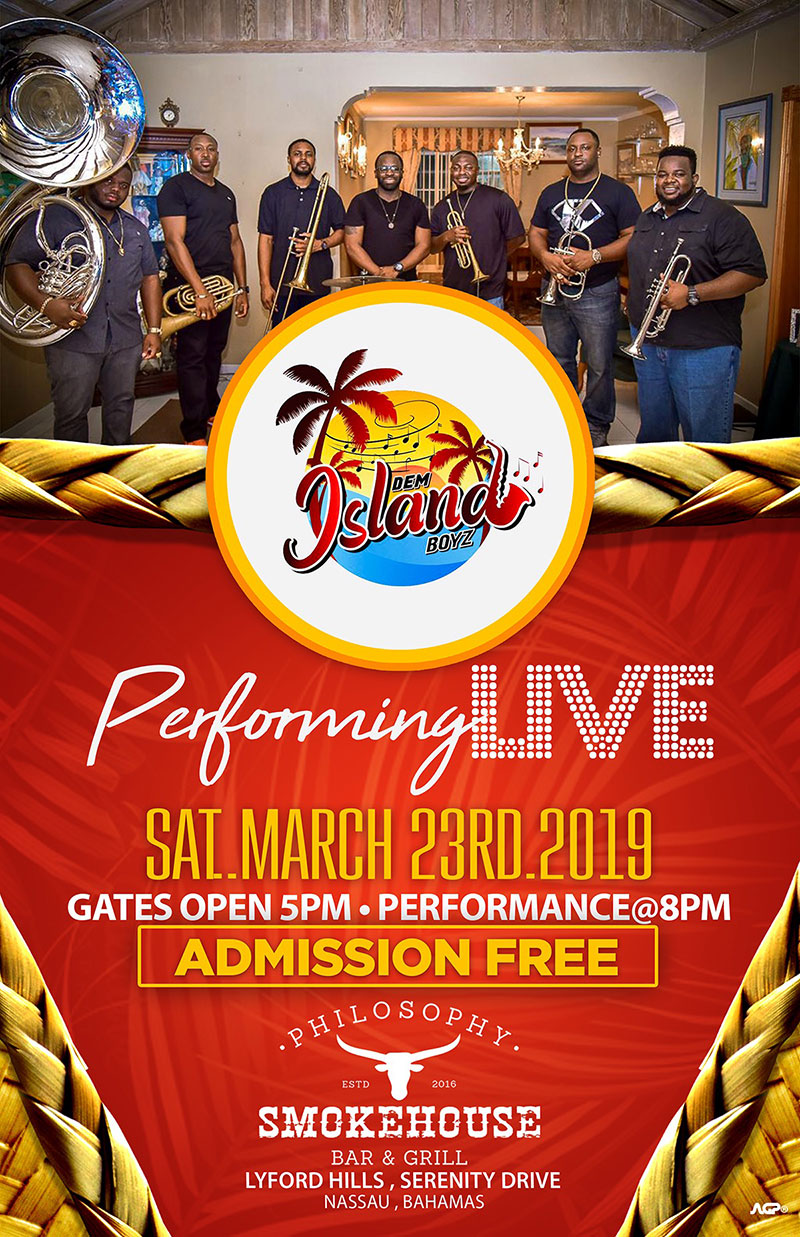 Dem Island Boyz Live At Philosophy Smokehouse Bar & Grill