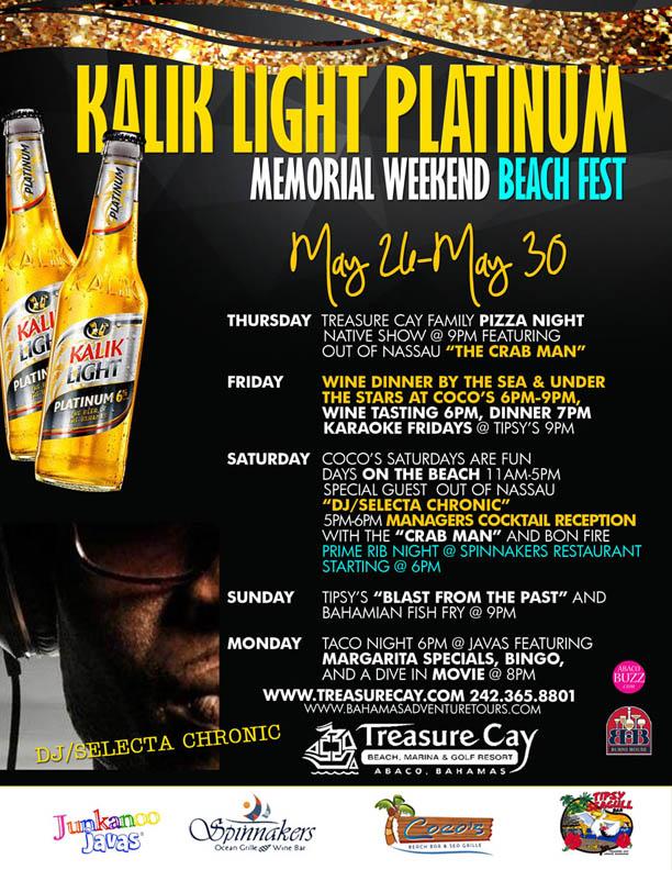 KALIK Light Platinum Memorial Weekend Beach Fest