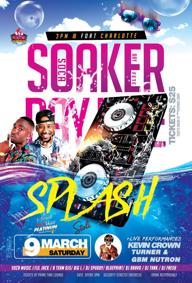 Splash Soaker Day Fete