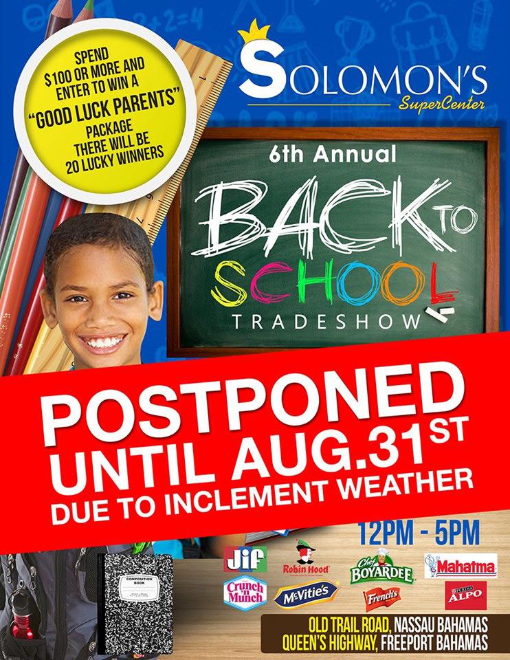 6th Annual Solomon's Back to School TradeShow