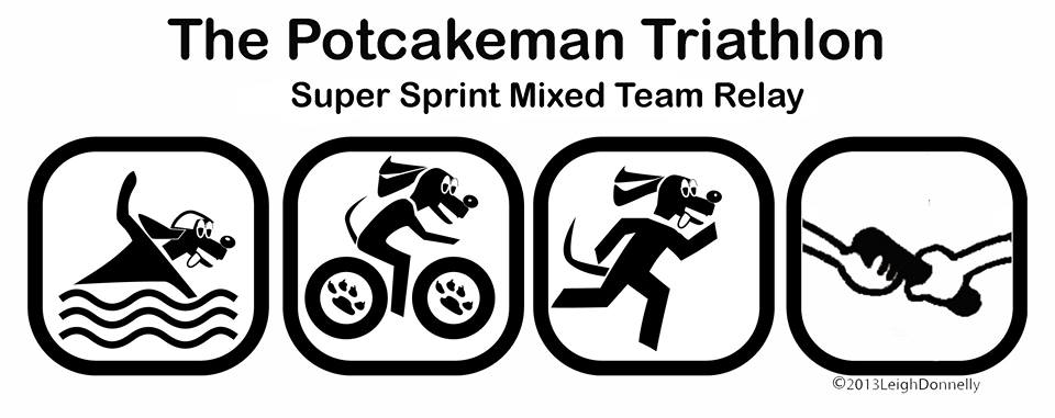 The Powerade Potcakeman Triathlon Super Sprint Mixed Team Relay