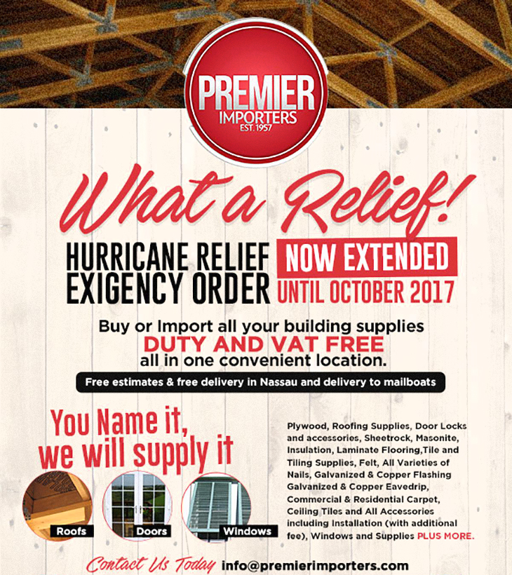 Premier Importers Hurricane Relief