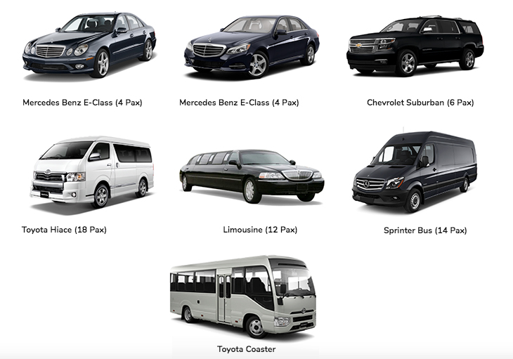 We have a fleet that will help ensure that you will arrive in comfort and style.