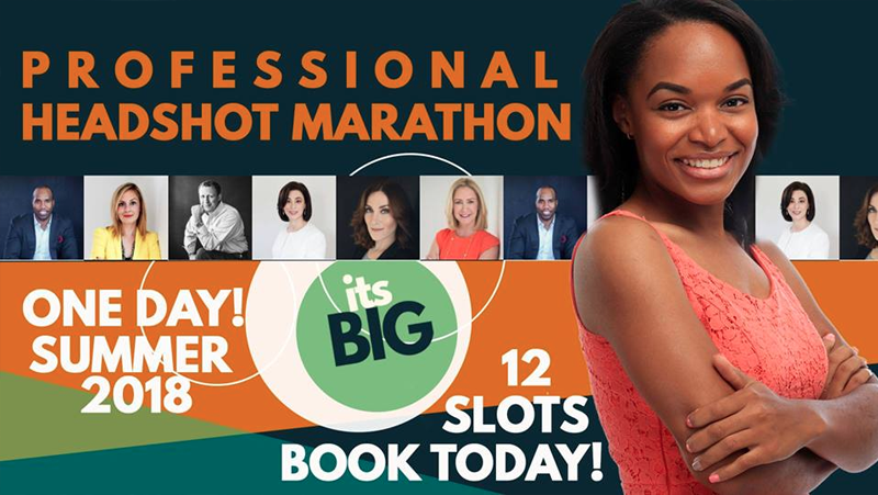 Professional Headshot Marathon Hosted by The Konnect Group