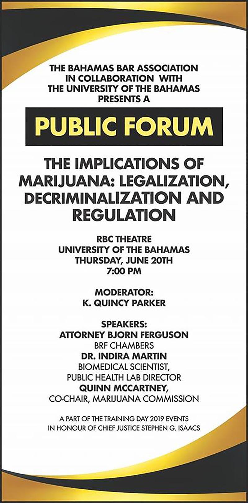 Implications Of Marijuana: Legalization, Decriminalization And Regulation