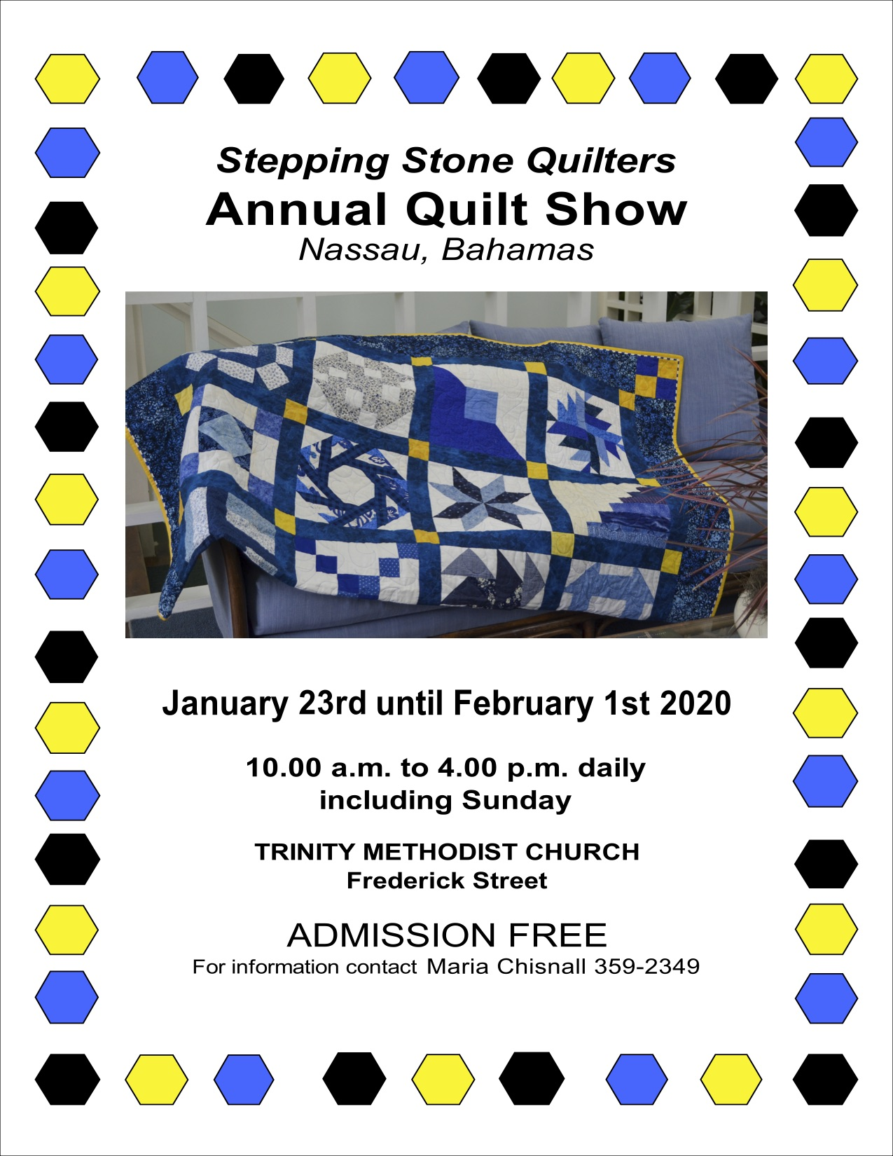 Stepping Stone Quilters Annual Quilt Show