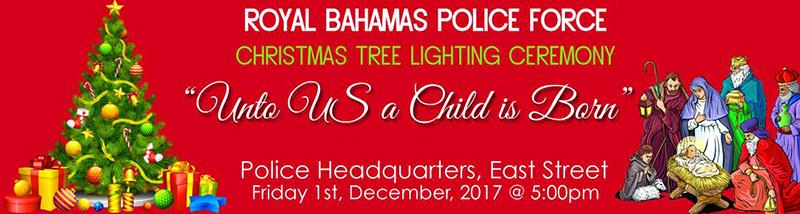Royal Bahamas Police Force Christmas Tree Lighting Ceremony