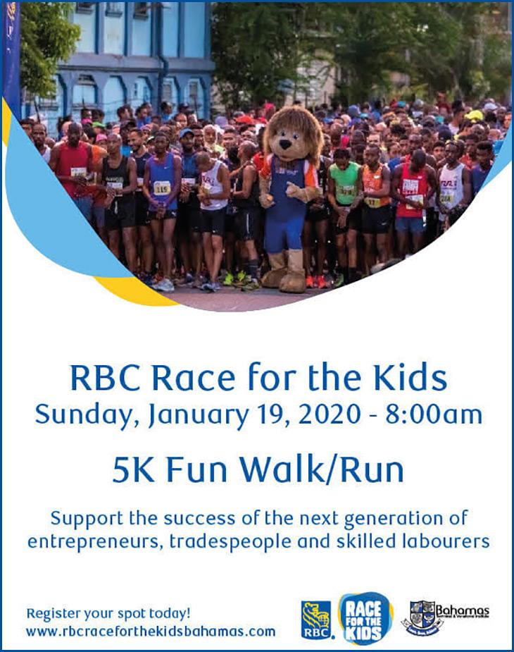 Bahamas Technical & Vocational Institute (BTVI) - RBC Race For The Kids