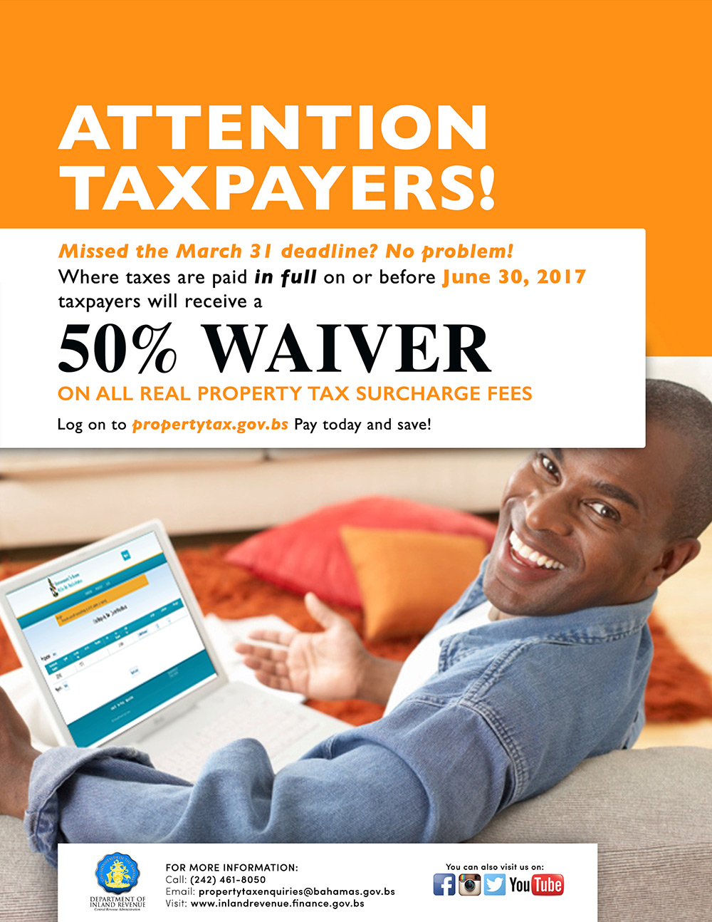 Department of Inland Revenue | 50% Waiver