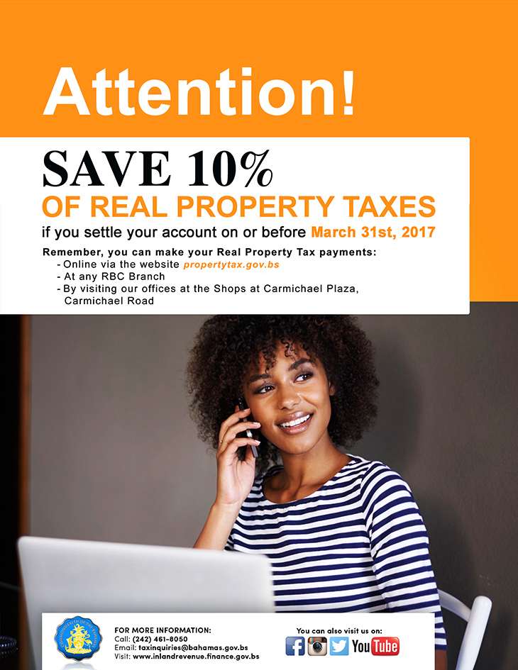 Department of Inland Revenue |Save On Real Property Tax