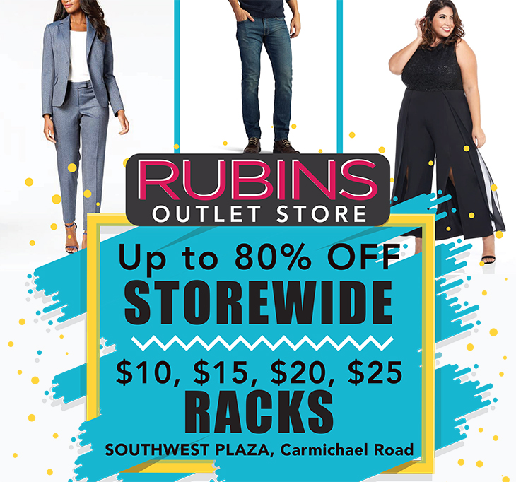 SouthWest Plaza - Rubins   Up To 80% OFF Storewide!
