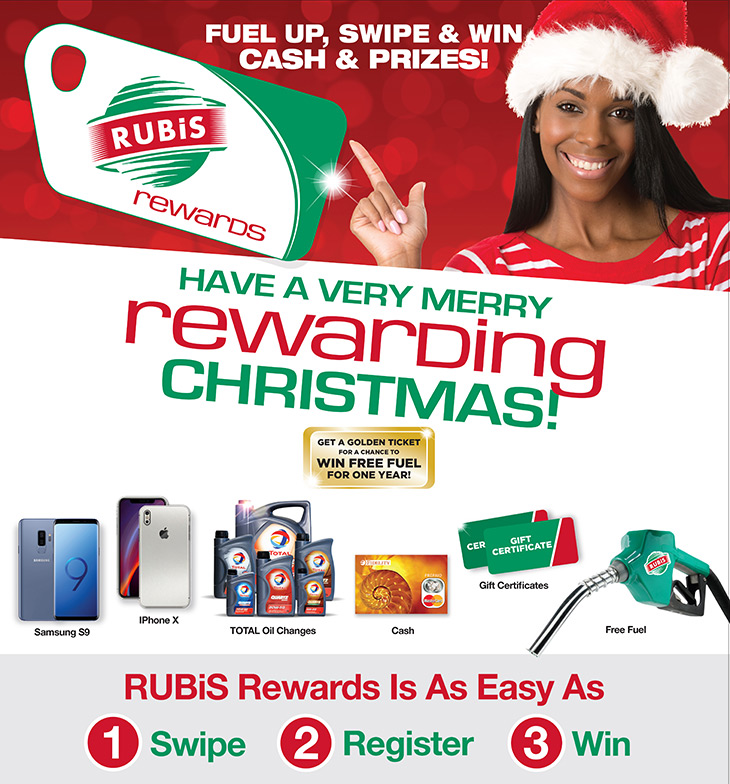 Have A Very Merry Rewarding Christmas At Rubis Bahamas Limited